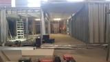Tak powstaje budynek rehabilitacji pocovidowej dla szpitala w Wolicy. ZDJĘCIA