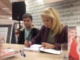 Katowice: Anna Jurksztowicz w Empiku promowała swoją książkę [ZDJĘCIA]