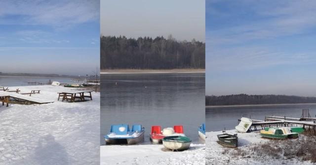 Jezioro Głębokie leży 30 km od Świebodzina