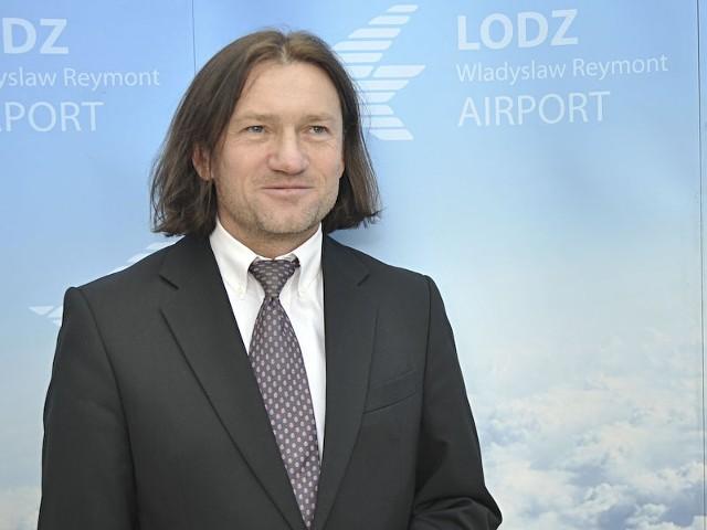 Prezes Portu Lotniczego Przemysław Nowak