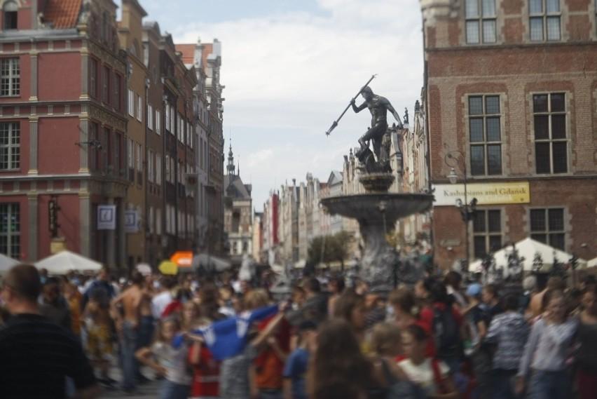 Atrakcjami turystycznymi Gdańska są także ludzie tu mieszkający i to niekoniecznie ci znani