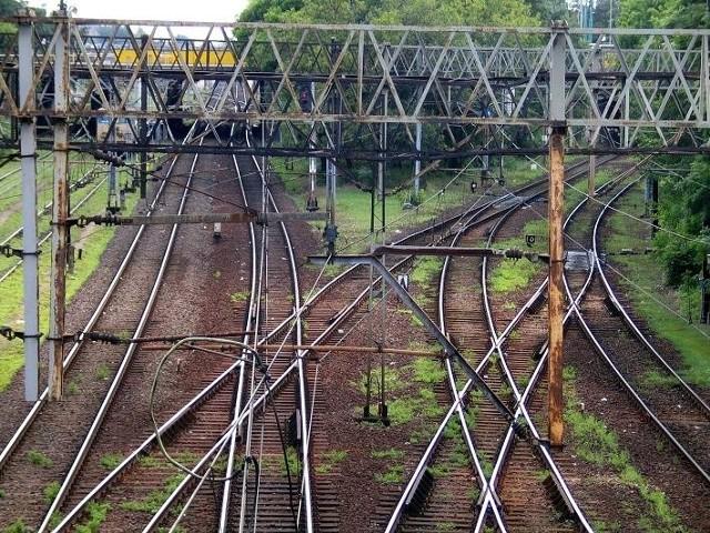Trakcje kolejowe zerwała nawałnica nad południową Wielkopolską