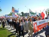Marsz w obronie TV Trwam w Zamościu. Zobacz ZDJĘCIA