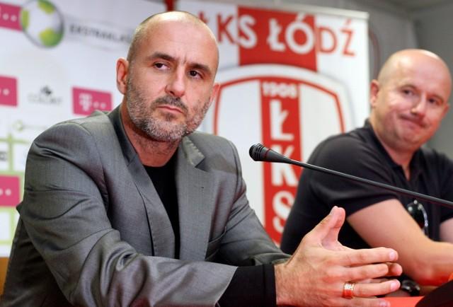 Probierz objął funkcję trenera ŁKS w początkach września