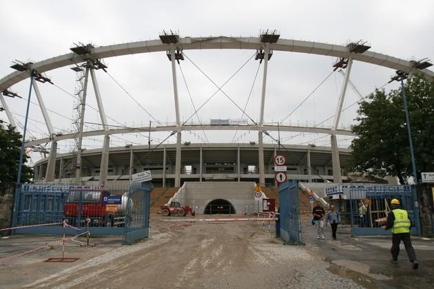 Ewakuacja Stadionu Śląskiego