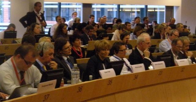 Prezydent Hanna Zdanowska w październiku w Brukseli