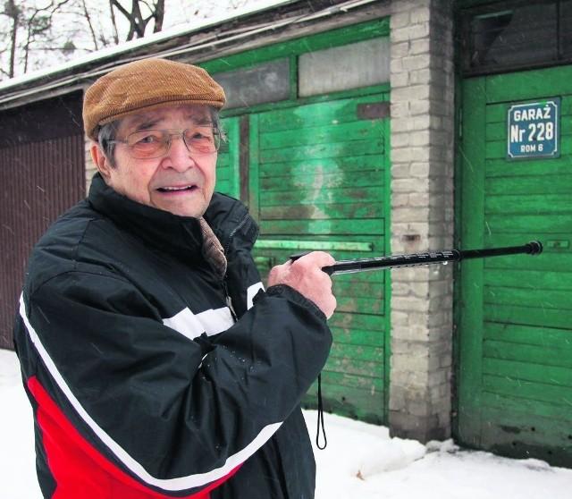 Dla pana Mączewskiego garaż to szansa na normalne życie
