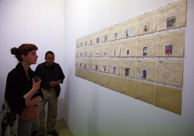 Wystawa Muzeum Sztuki Zdeponowanej w Galerii Arsenał.