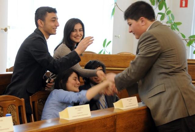 Europejska młodzież debatowała w lubelskim Ratuszu