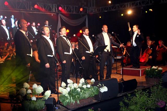 Gala z udziałem pięciu tenorów zakończyła w sobotę wieczór 46. Festiwal im. Jana Kiepury w Krynicy-Zdroju