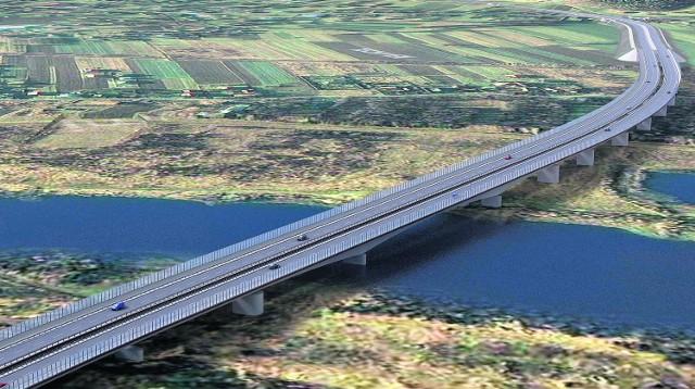 Tak ma wyglądać drugi most na Dunajcu, który stanowi część projektowanej północnej obwodnicy Nowego Sącza