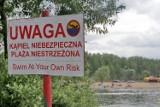 Utonięcia na Mazowszu. Policja apeluje o rozsądek