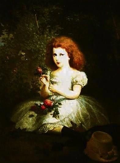 Jedno z dzieł z Galerii Malarstwa Polskiego: Portret Rozalii Matyldy Glaser autorstwa Artura Grottgera