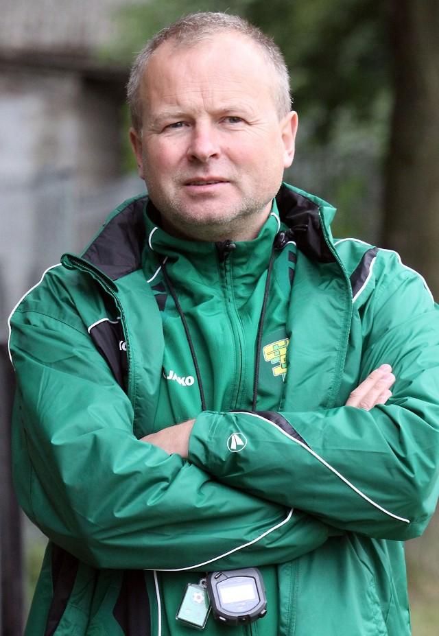 Trener Piotr Rzepka