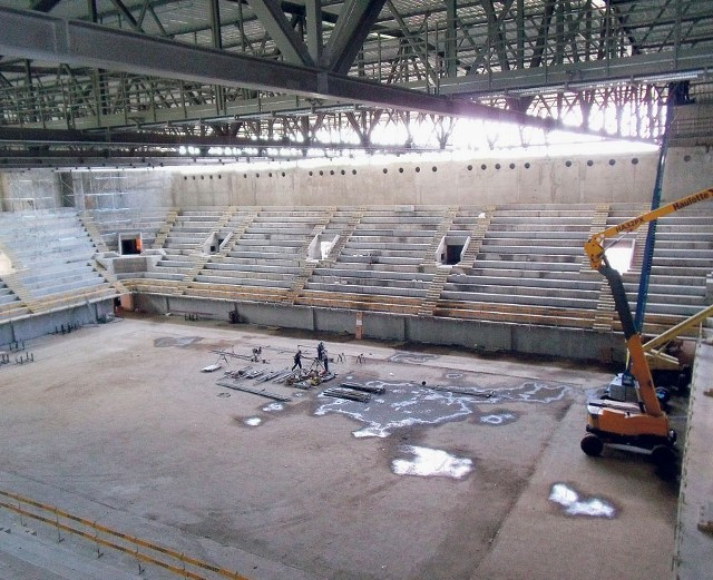Hala na Zawodziu w Częstochowie będzie gotowa za rok