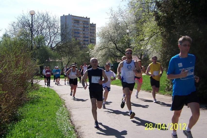 Biegacze rywalizowali na lubelskich ścieżkach w kwietniowym sprawdzianie kondycji