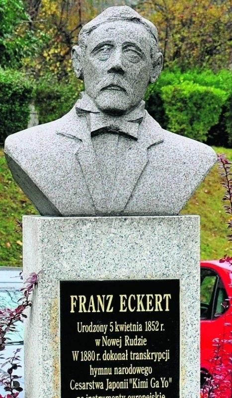 Postać Franza Eckerta w Nowej Rudzie uhonorowano pomnikiem