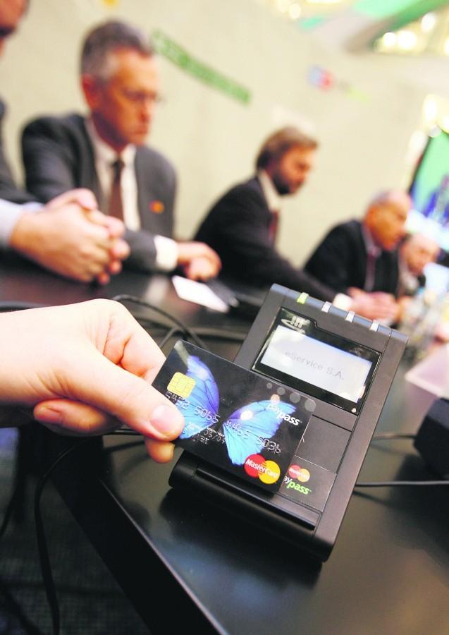 MasterCard była pierwszą bezstykową kartą w Polsce