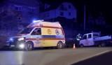 Zderzenie aut w Mordarce utrudniało przejazd krajówką między Limanową i Nowym Sączem