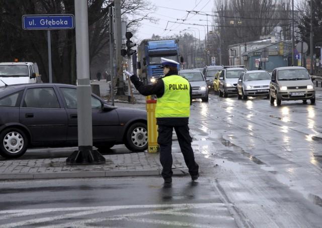 Na skrzyżowaniu Kraśnickiej z Głęboką nie działają światła