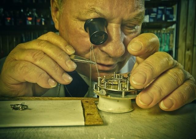 Ryszard Morawski, zegarmistrz