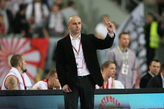 Piotr Zych przygotowuje ŁKS do meczu w Starogardzie