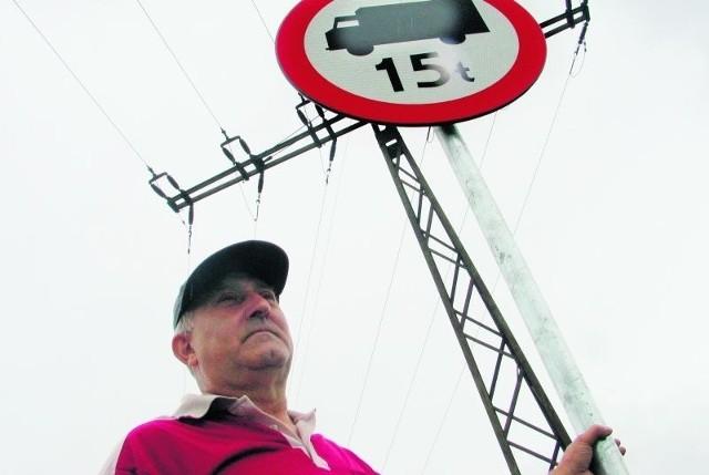 - Planujemy już protesty, bo znaki nic nie dały - mówi Zbigniew Zielonka z Goczałkowa