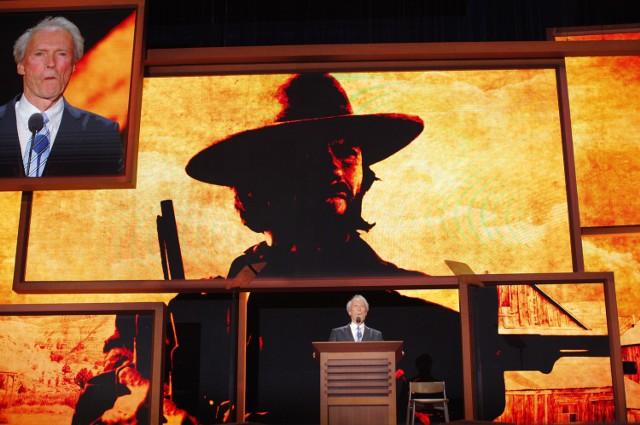Clint Eastwood był gościem konwencji Republikanów