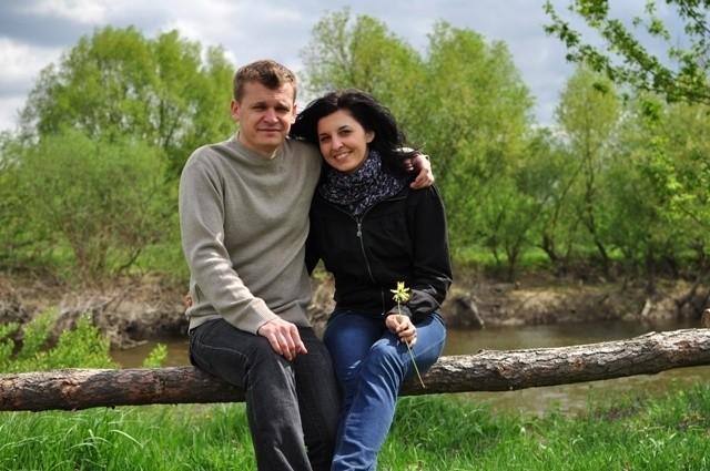 Justyna Baryła i Sebastian Świstek