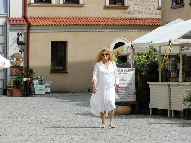 Magda Gessler na lubelskim Starym Mieście