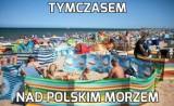 Bałtyk w MEMACH! Tak z wakacji nad polskim morzem śmieją się Internauci