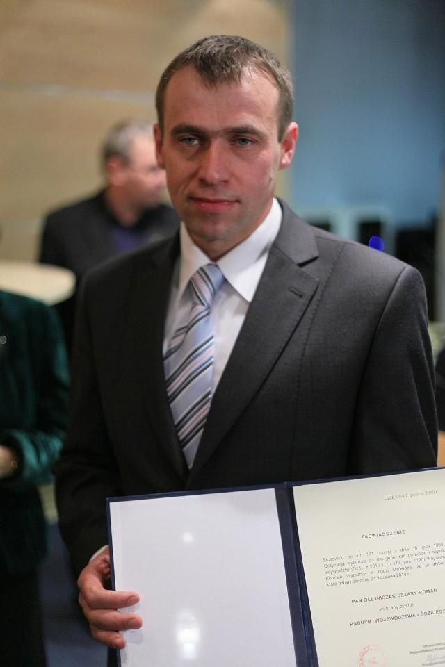 Cezary Olejniczak kandyduje do Sejmu z ostatniego miejsca na liście