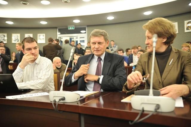 Leszek Balcerowicz na Uniwersytecie Łódzkim