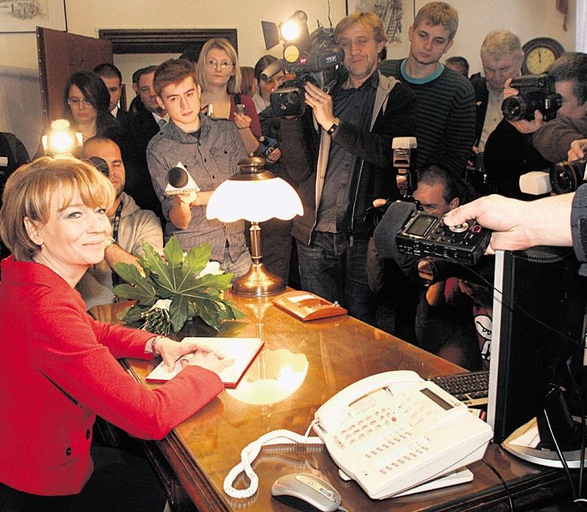 Prezydent Zdanowska wybrała gabinet Jerzego Kropiwnickiego.