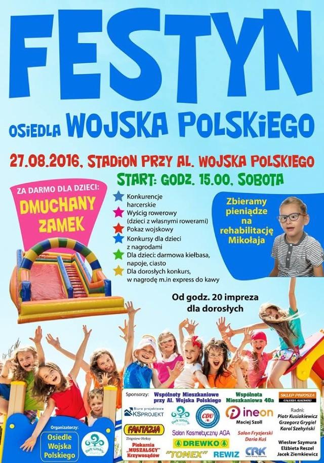 Festyn na Wojska Polskiego pełen atrakcji