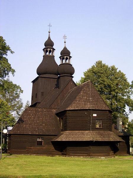 Drewniany kościół parafialny p.w. św. Mikołaja w Borowej Wsi