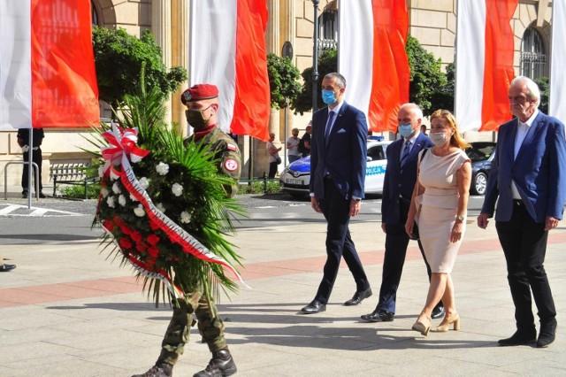 Obchody rocznicy powstania warszawskiego w Krakowie w roku 2020