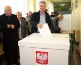 Łódzkie: głosowali mieszkańcy zniszczonego Białaczowa