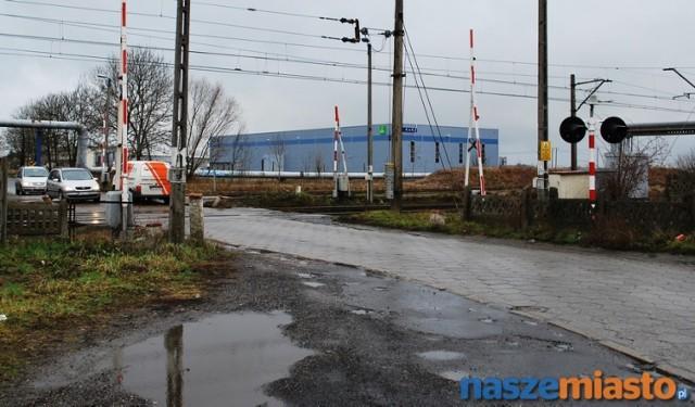 Miasto Leszno. W ciągu łącznika powstanie także wiadukt drogowy nad torowiskiem przecinającym ulicę Wilkowicką.