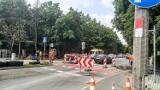 Niebezpieczne przejście na Ozimskiej w Opolu. Ruszyła budowa sygnalizacji świetlnej przy skrzyżowaniu z ulicą Kani