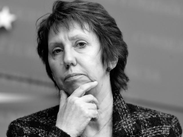 Catherine Ashton, wysoka przedstawiciel UE ds. zagranicznych