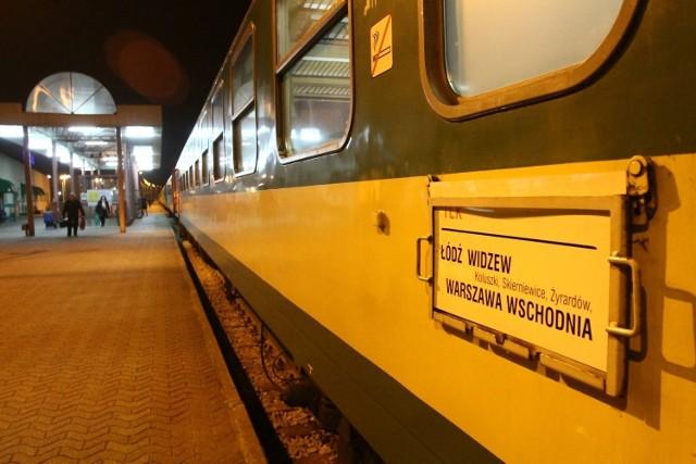Nie będzie tańszych biletów na trasie Łódź-Warszawa