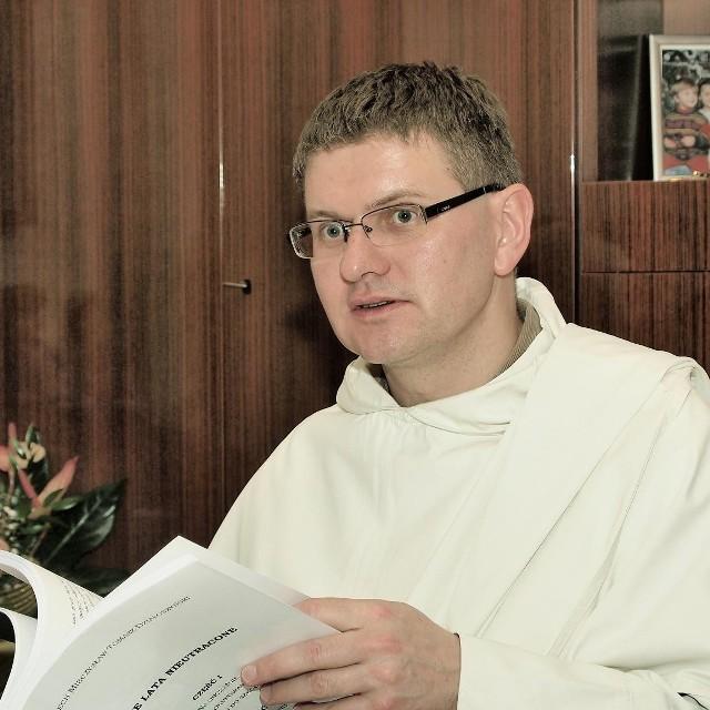 Ojciec Cyprian Klahs.