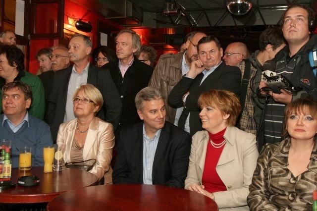 Prezydent Zdanowska wzięła udział w wieczorze wyborczym PO w Łodzi