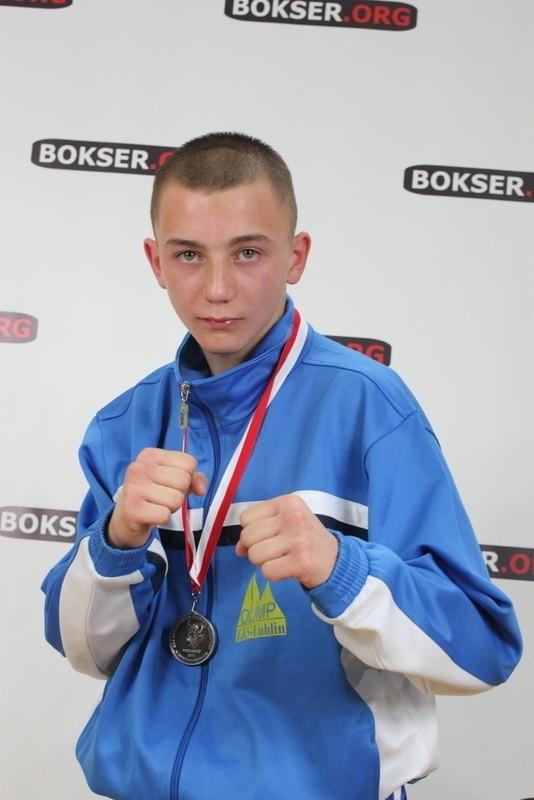 Adrian Kowal (Olimp Lublin) jest wielką nadzieją pięściarstwa na Lubelszczyźnie