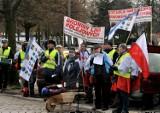 Gdańsk: Protestowali, aby przywrócić połączenia PKP [ZDJĘCIA]