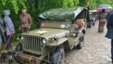 Zabytkowe samochody wojskowe zjechały na Górę św. Anny. Tak członkowie Stowarzyszenia Pancerny Skorpion uczcili pamięć powstańców śląskich