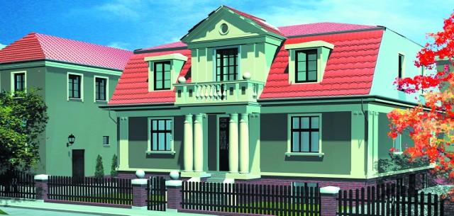 W willach w stylu neoklasycystycznym będą nowoczesne wnętrza biurowe