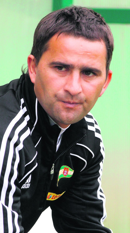 Trener Tomasz Kafarski wierzy w swój zespół