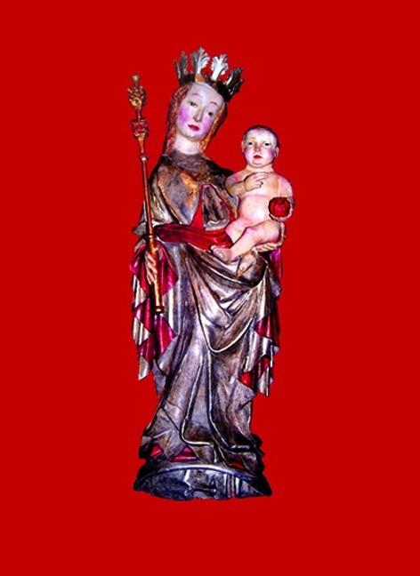 Figura Pięknej Madonny